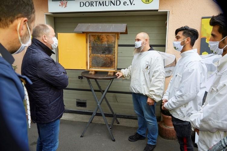 Stamp angekommen Dortmund 05.10.2020_